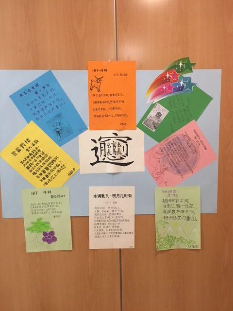 curso de chino murales