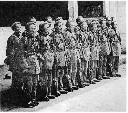 revolucion taiping soldados
