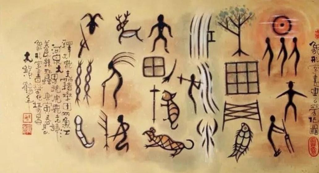 escritura pictogramas